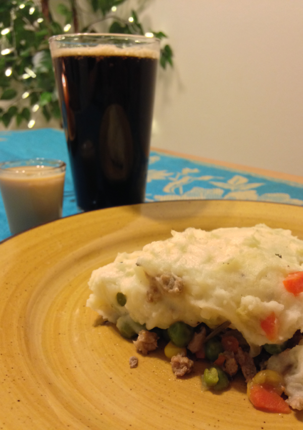 Shepherd's Pie and Irish Guinness Geniuses!