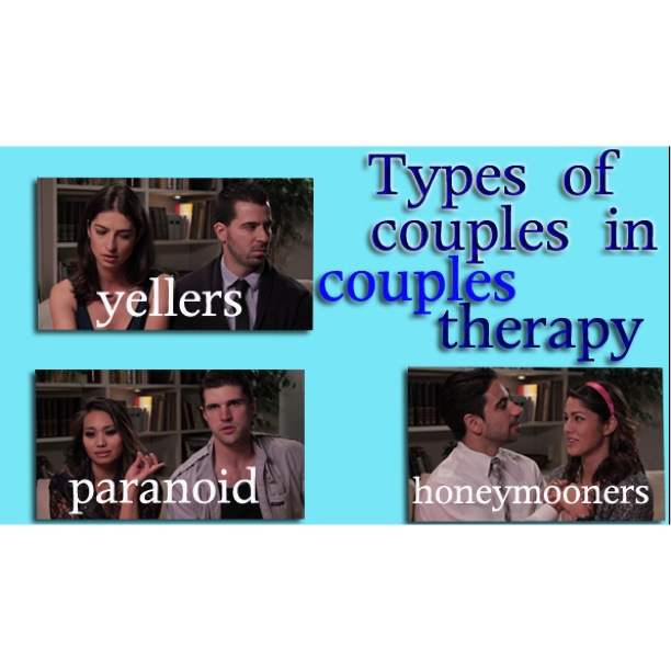 The Types Of Couples In Couples Therapy!