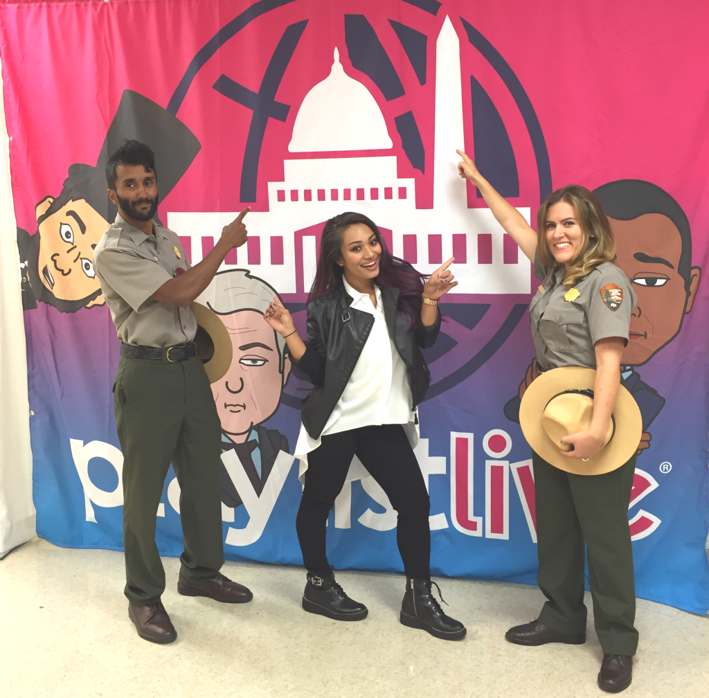 PLAYLIST LIVE D.C. WITH MASHABLE AND THE NPS!