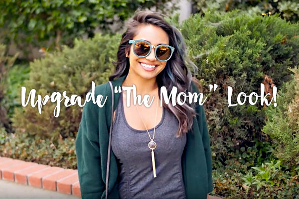 3 EASY FIXES TO MOVE ON FROM THE 'MOM' LOOK