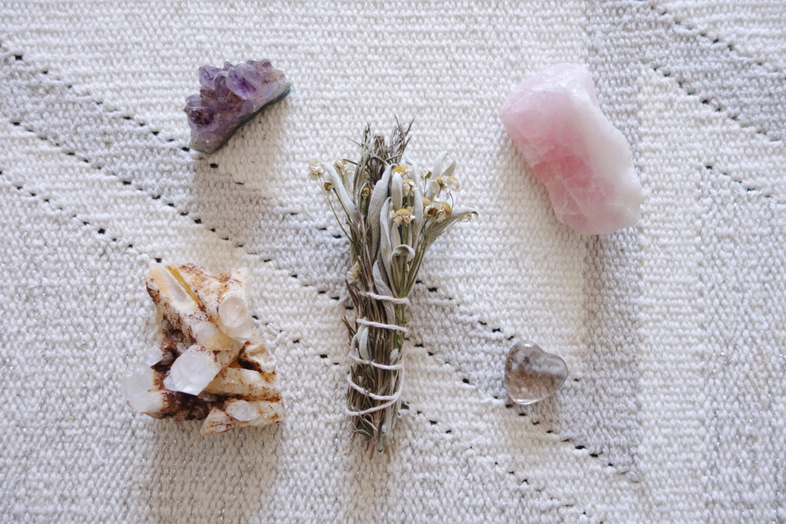Make Your Own DIY Floral Sage Smudge Stick - oh hey, pretty