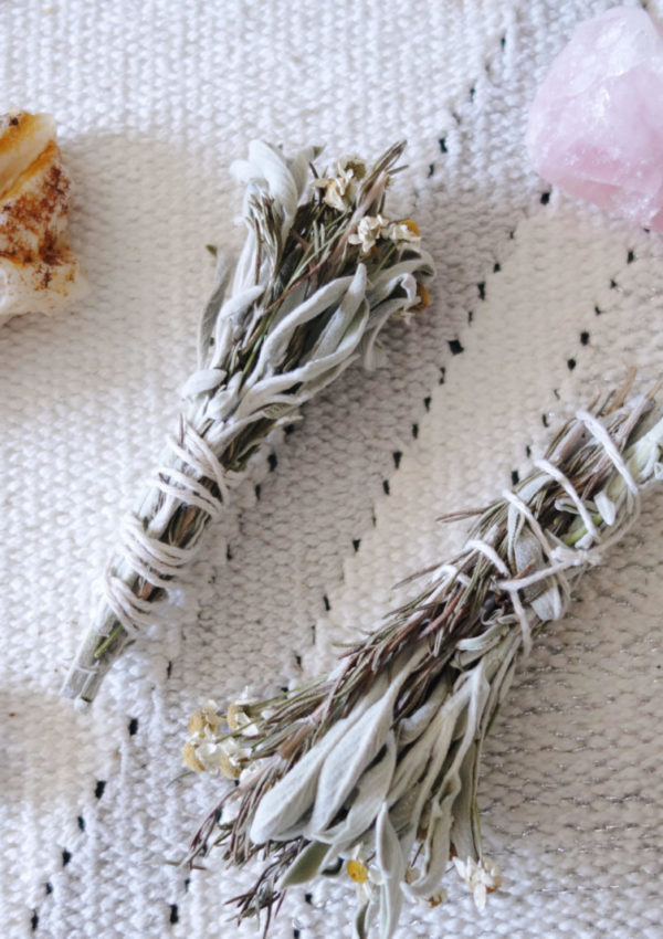 Make Your Own DIY Floral Sage Smudge Stick