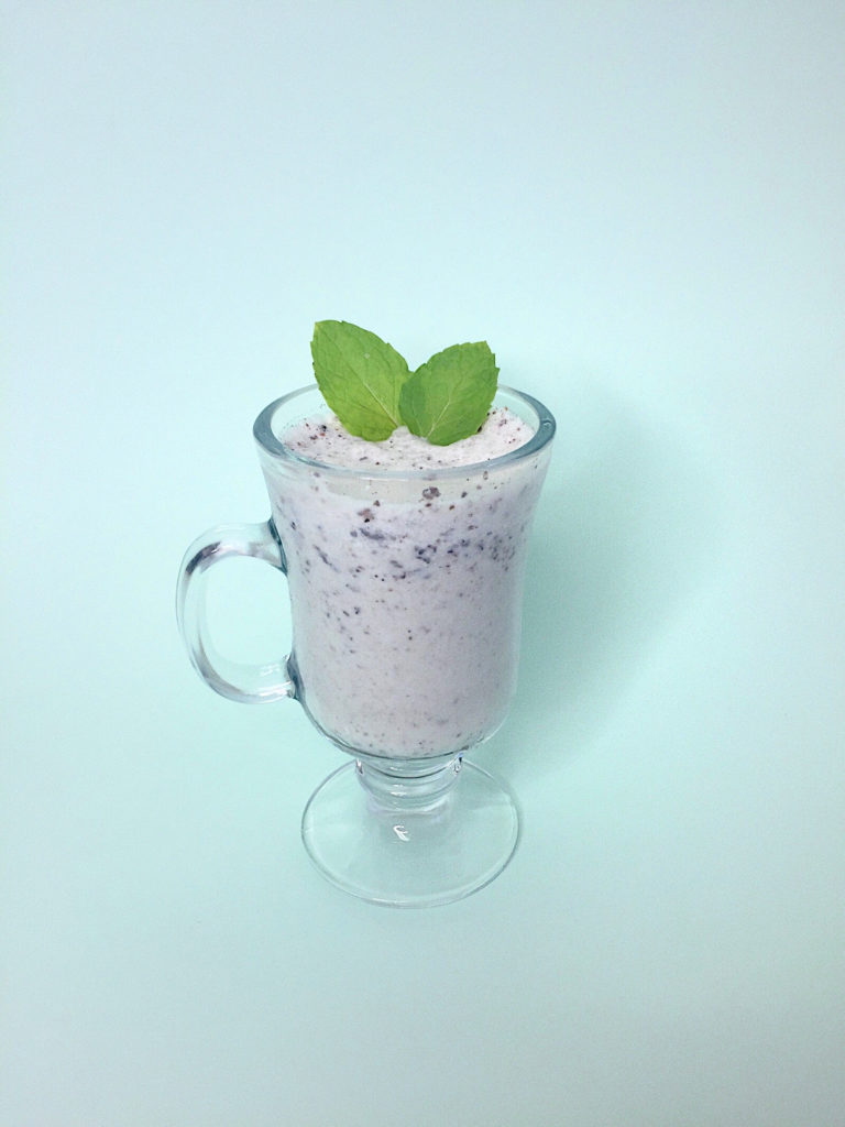 Best Vegan Mint Milkshake With Nada Moo!