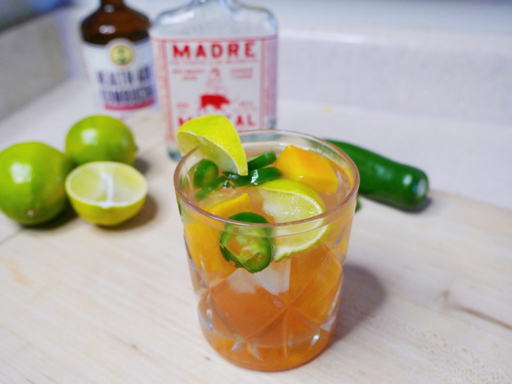 Saturday Sip – Spicy Mango Smoky Tequila